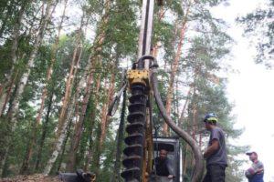 realizacje montaż pali Kiełcz